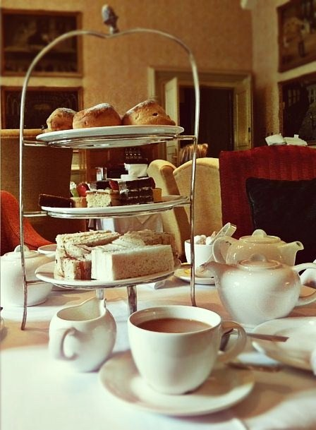 Reminiscing Over Afternoon Tea At The Randolph Oxford